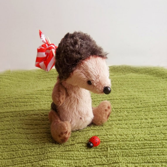 Hedgehog Billy - Miniature Teddy Friend 4 inch