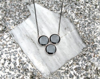 The Geo Necklace 03, Geometric jewelry, Geometric necklace