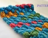 CROCHET PATTERN - Crochet Scarf Pattern / PDF format Pattern / Neck Warmer Pattern / Cowl pattern