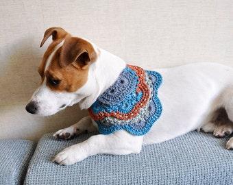 Crochet Dog  Bandana, Small Dog Bandana, Dog Accessories, Dog clothes
