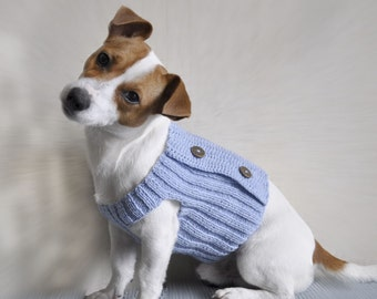 Knitting Pattern, Dog Sweater Pattern, Knit Dog Sweater Pattern, Dog Clothes Pattern, Pdf Pattern