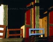 Teahouse Chairs, Nepal,  Ultrachrome K3 Archival Print