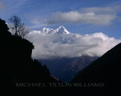 Tramserku From Thame, Nepal,  Ultrachrome K3 Archival Print