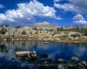 Mt. Humphreys. Eastern Sierra,  Ultrachrome K3 Archival Print