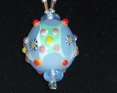 Party-Necklace-Handpainted-Magnetic Clasp