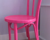 Neon Pink Chair