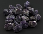 Destash Large Chunky Rough Amethyst Nugget Beads