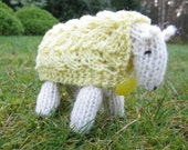 Sheep Knitting Kit - April