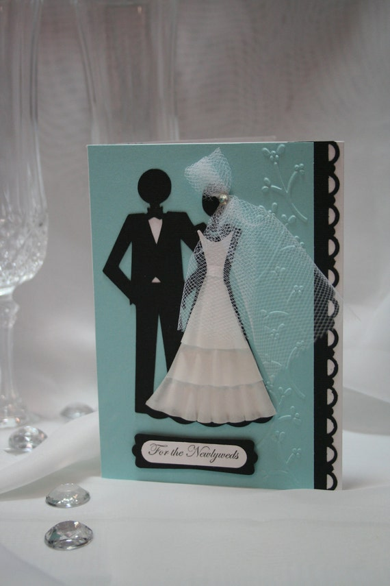 Wedding Card Bride and Groom