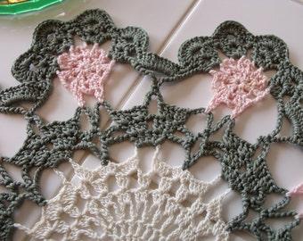 Handmade Cotton Crochet Doily
