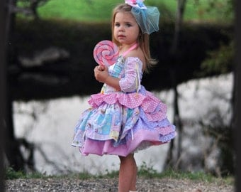 Pageant Easter Bunny Hand Painted Casual Wear Custom 3/6m 9m 12m 18m 2T 3T 4 5 6 7 8 9 10 yrs BelginBoutique.com