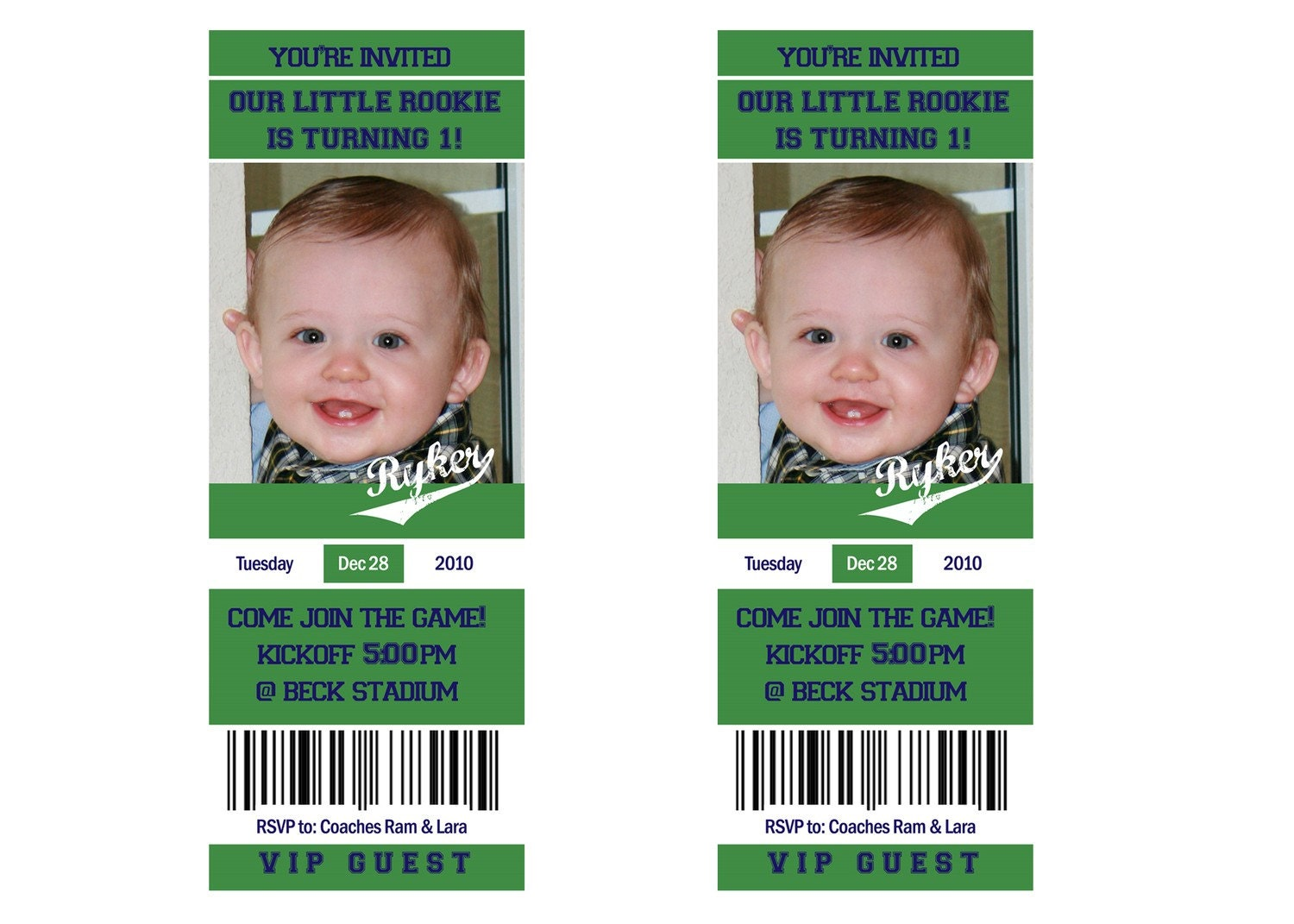Printable football ticket birthday photo for Sports ticket template free download