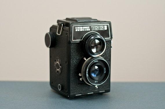 LUBITEL 166B great lomo medium format camera vintage ussr tlr 120 film