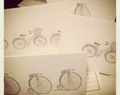Bicycle Stationary // Handmade // Vintage Style Bikes // Stationery