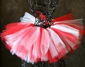 Candy Cane Tutu and Korker Bow