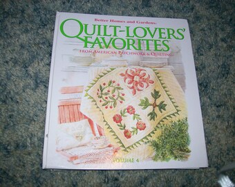 Quilt-Lovers' Favorites Volume 4 - Better Homes and Gardens