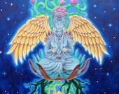 Meditation Space 11x14 PRINT