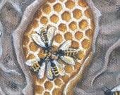 Sacred Hive - 11x14 Print
