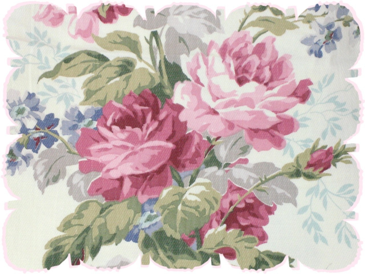 Buy One Get One Free Curtains French Rose Curtains