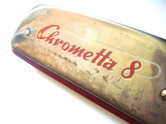 Hohner Chrometta 8 Harmonica