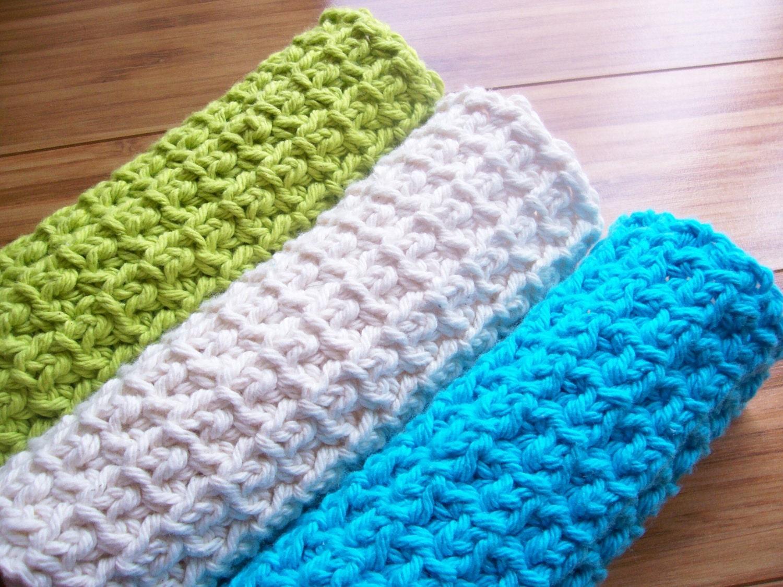 Crochet Washcloth Pattern : ... Spa Cloth Exfoliating Washcloth Crochet Pattern PDF by RusticThreads