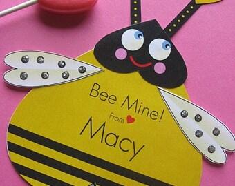 Bee Valentine Card, Craft