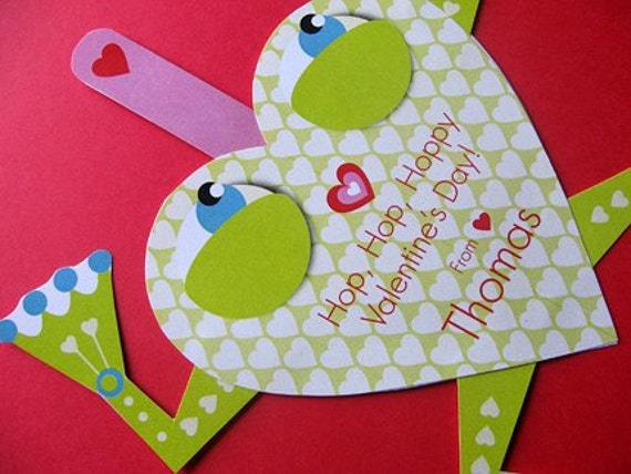 Frog Valentine Card, Craft