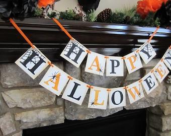 Happy Halloween Banner / Garland