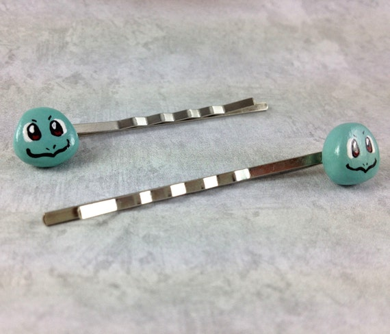 Pokemon Squirtle Bobby Pins SALE