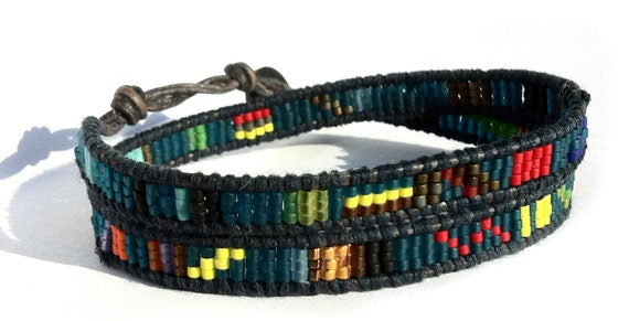 Men's Unique Wrap Bracelet