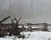 Retirement--11x17--Farm Machine--Fine Art Print