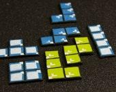 Tetris Cupcake Toppers