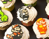 Mario 3 Cupcake Toppers