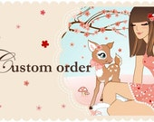 Custom Order for Meg- 100 piece Cherry Blossom Confetti