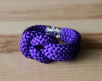 Obijime bracelet /Deep purple