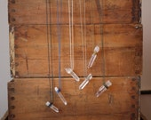 Reserved for Anna: Magic crystal necklace - Quartz on a waxed cotton cord