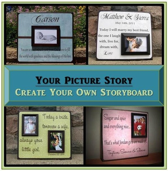 Create Your Own Custom Picture Frame By Yourpicturestory