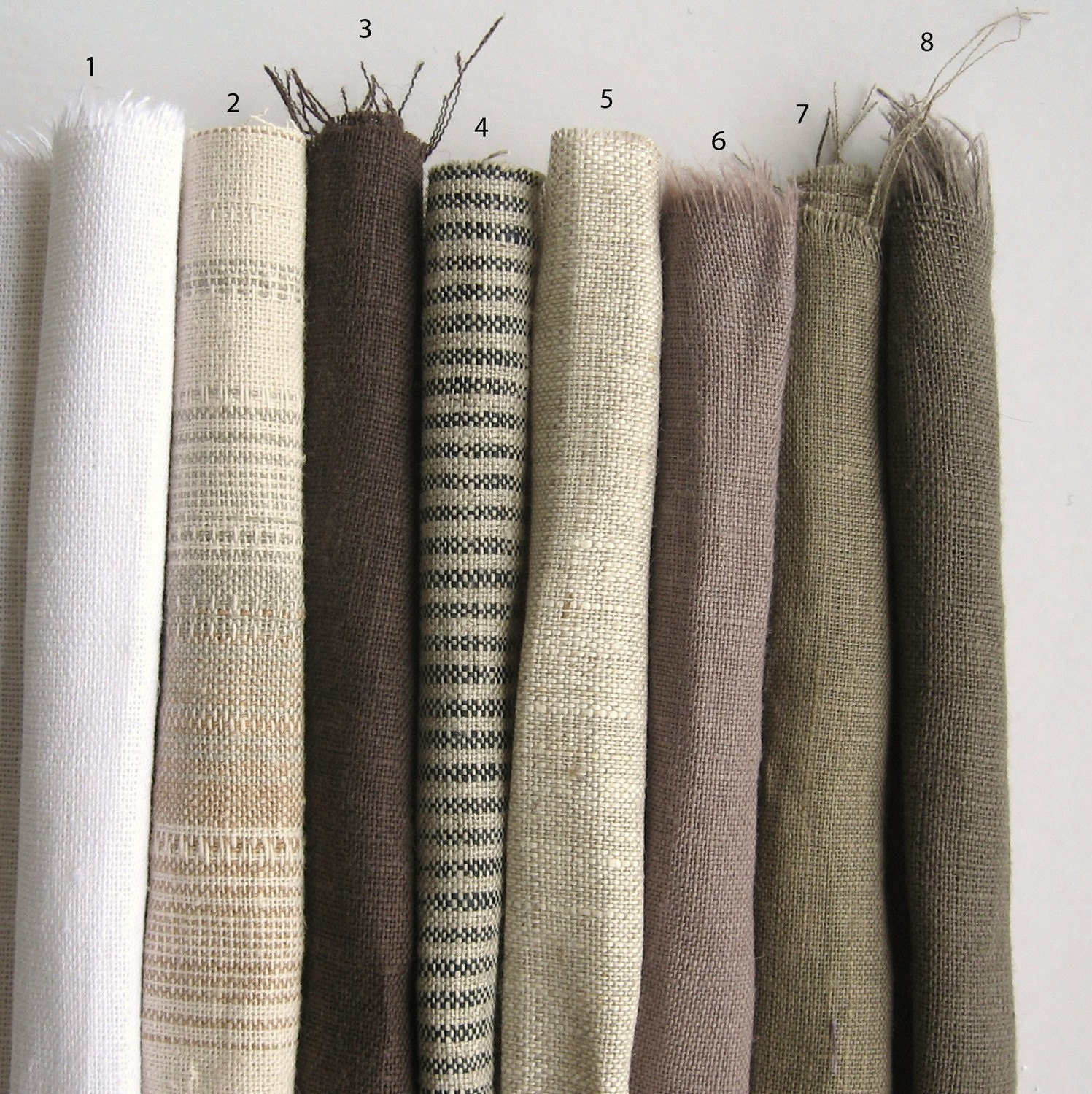 Custom Linen Curtains Reserved