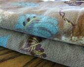 Vintage Barkcloth Curtains (2) -