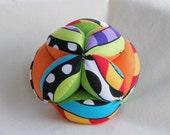 Baby Play Ball, Bold & Colorful Geometric Fabric