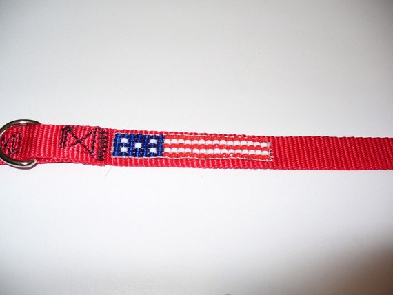 US Flag Pet Collar- Small