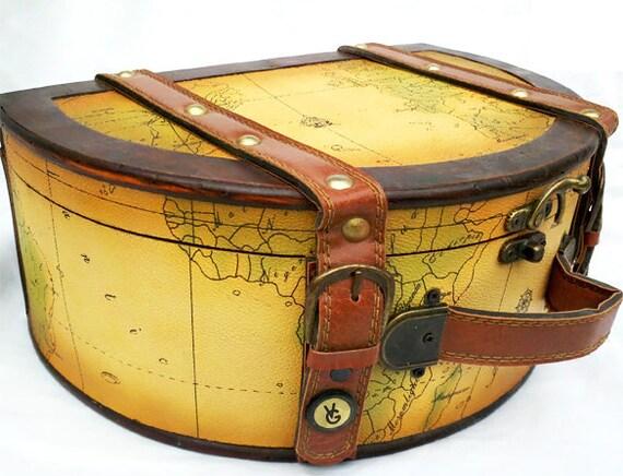 Around the World Wooden Case