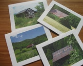 North Carolina Barns Note Cards