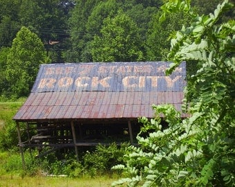 Rock City - Barn Photograph