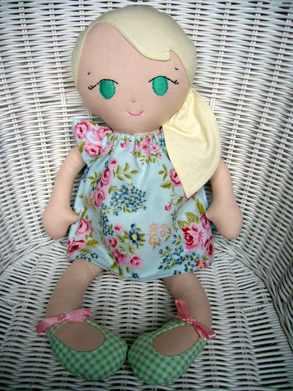 Handmade Fabric doll, can be personalized