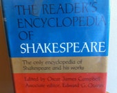 Shakespeare Hardback book decor Readers Encyclopedia