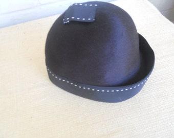 Mr. John DEBUTANTE Gorgeous Black Hat