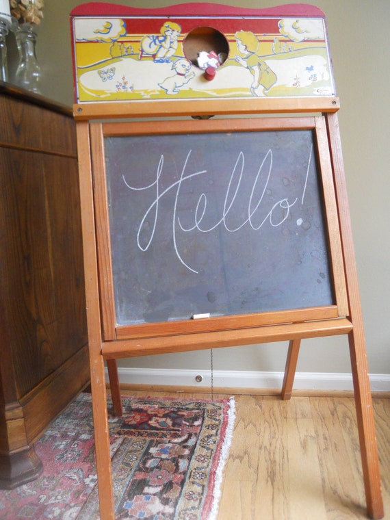 Amazing Cass Childs Chalkboard and Desk ON SALE