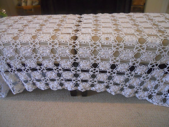 Vintage Crocheted  Cloth