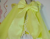 Lemon Cake Girls Babies Easter Dress & Ruffled bloomers Lemon Yellow 24 mo, 2T 3T 4T